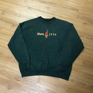 Vintage 90's '96 Atlanta Olympics Crewneck Sweater